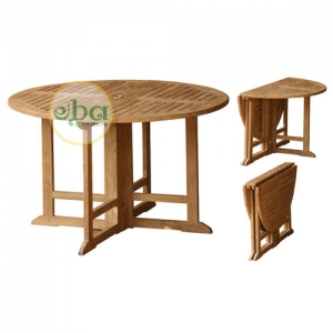 round folding table medium