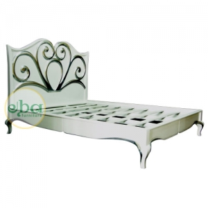 priyanka carved bed