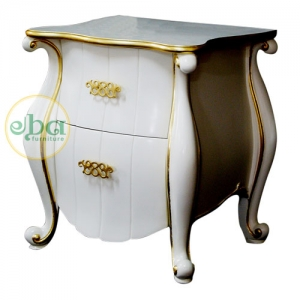 navari plain bedside table