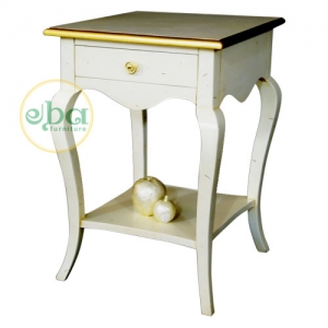 philips white bedside table
