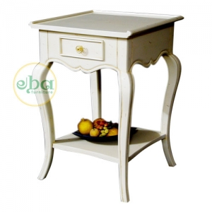 grace white bedside table