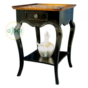 grace black bedside table