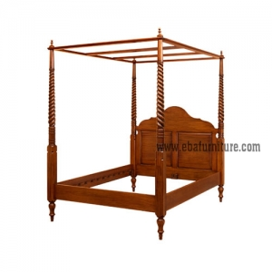 canopy twisted bed