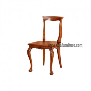 canopy slim carved chair
