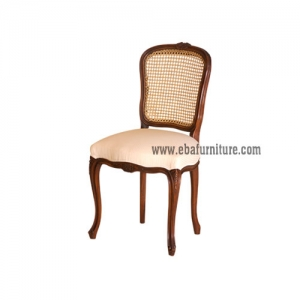 canopy rattan back chair