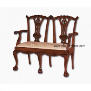 gothic couple arms chair