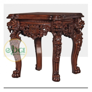 lions end table