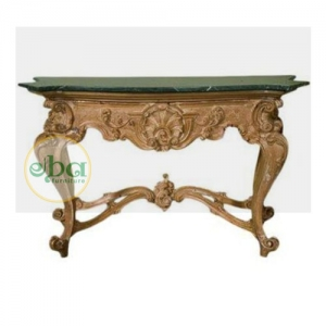bobie carved console table