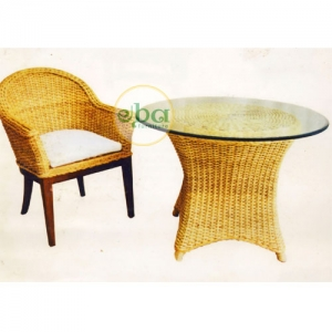 alexaa chair table set