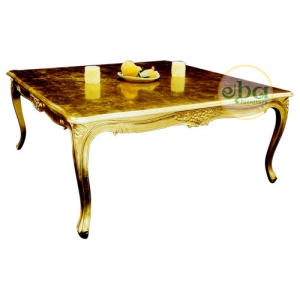 french carved coffee table