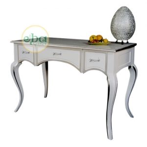 jane white console table