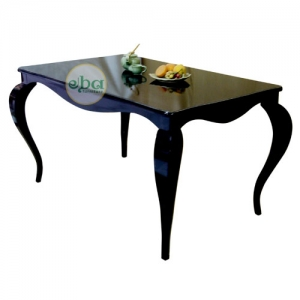 kimmy black dining table