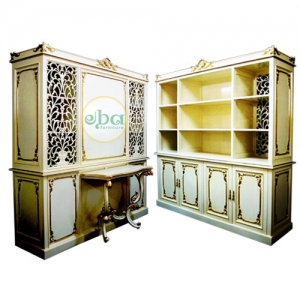 double face open cabinet
