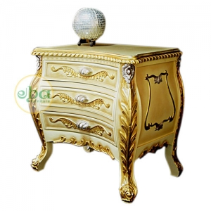 goldie carved bedside