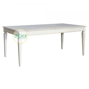 napoli white dining table