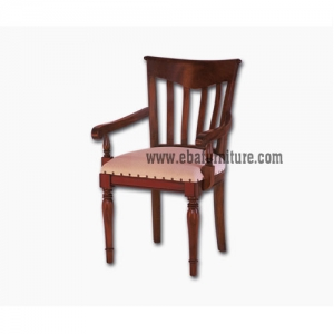 slats arms chair