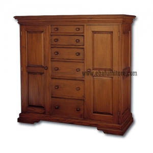 large wardrobe low