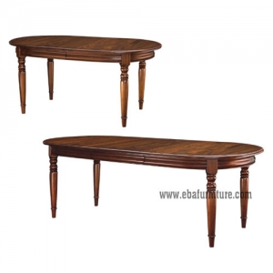 Oval 1 Leaf Table