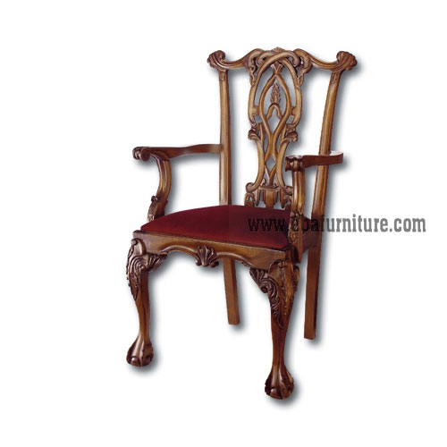 Classic Carved Chair Indonesia Export Furniture Indonesian