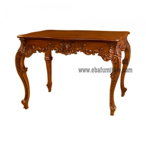 carved wall table