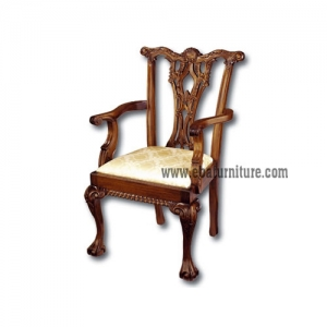 classic gothic arms chair