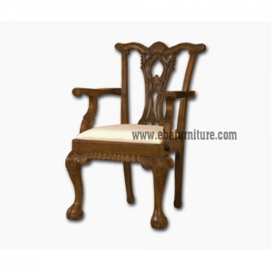 classic carved arms chair