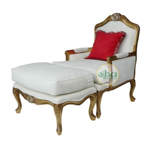 french chair with foot