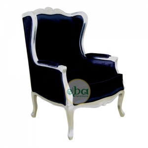 french plain wings chair