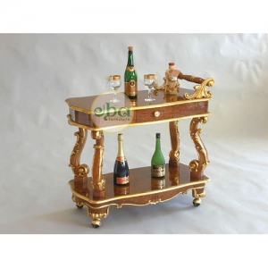 classic carved trolley