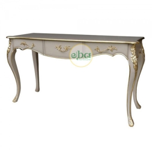 classic grey console table