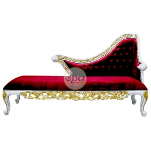 luxury carved chaise lounge