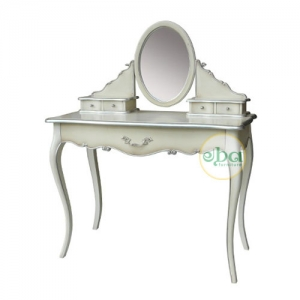 french oval dressing table