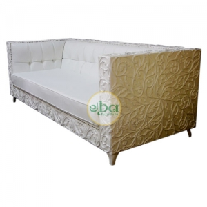 full carved three seater