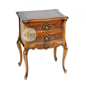 classic french bedside table