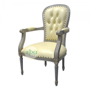 french cheval arms chair