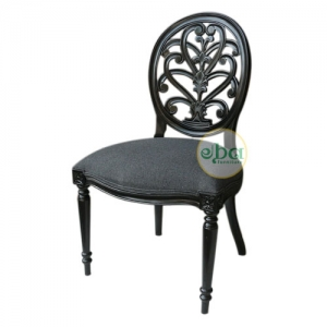 french back carved chair