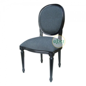 french louis oval chair