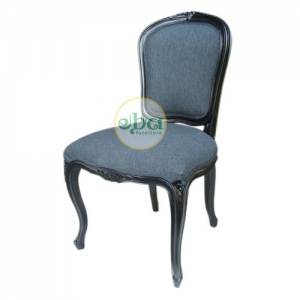 classic french chair black