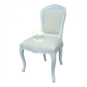 classic french chair white