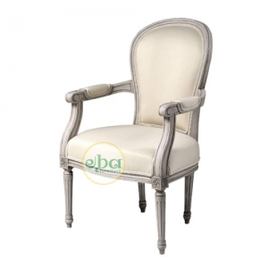 french classic white chair