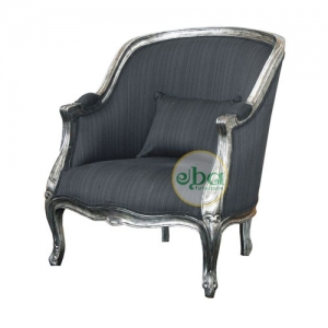 french plain low chair