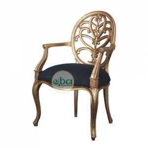 french carved gold chair