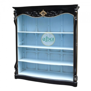 rich open bookcase