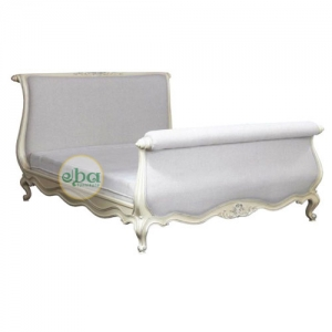 rich upholstery bed