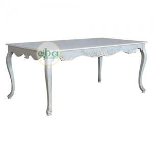 rich dining table