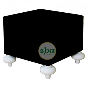 black square small stool