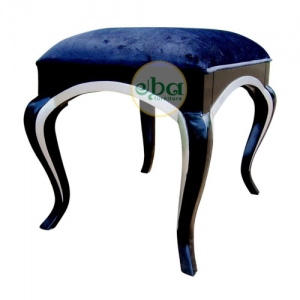 black silver small stool
