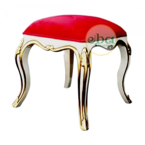 nana white gold stool