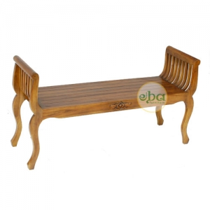 indonesia wooden bench