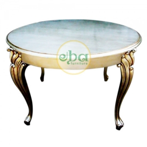 silver cakra side table